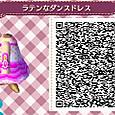 【ラテンなダンスドレス】QRコード4/4